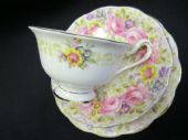 Royal Albert 'Serena' cabinet cup saucer and plate